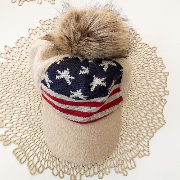 6681e594 D&Y Accessories | David Young Cute Furry Hat One Size Fits All ...